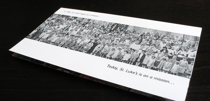 St. Luke's 125th Anniversary brochure front