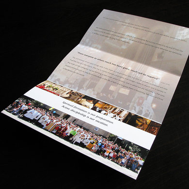 St. Luke's 125th Anniversary brochure inside